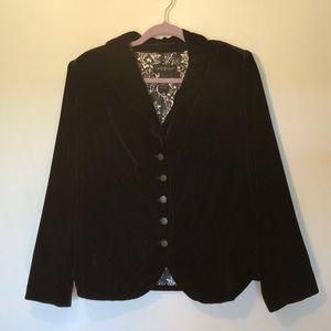 Lane Bryant velvet jacket / blazer